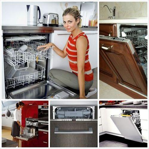 Посудомоечная машина в интерьере фото