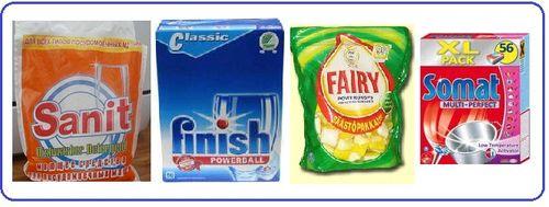 Как выбрать моющие средства для посудомоечных машин: отзывы