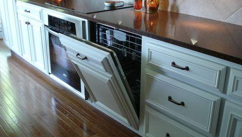Глубина встраиваемой посудомоечной машины