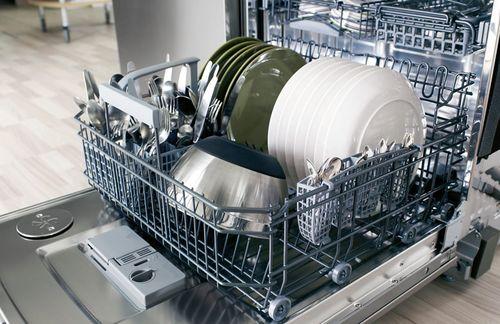 Машина на 6 комплектов посуды