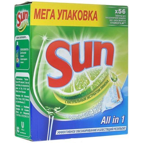 Таблетки Sun для посудомоечной машины