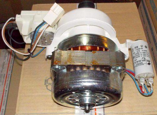 Ремонт циркуляционный насоса посудомоечной машины бош