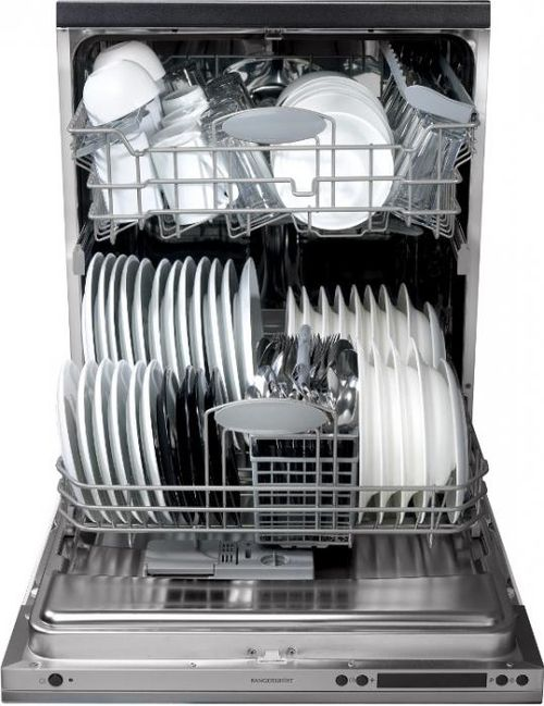 Загруженная для мытья посуда