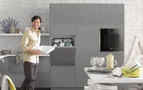 Встроенная посудомоечная