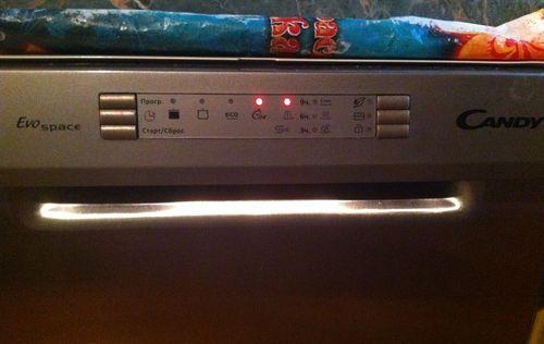Ошибка посудомоечной машины