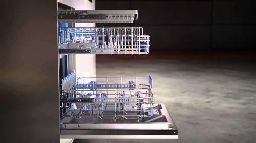 Вид посудомоечной машины сбоку