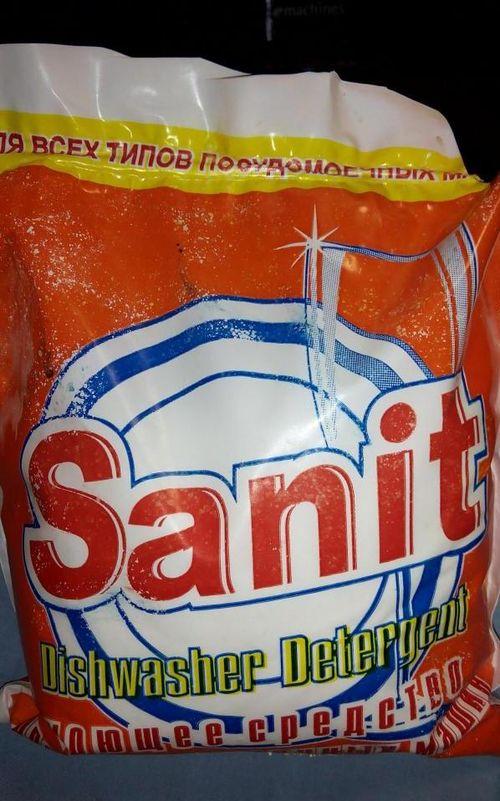 Моющее средство для посудомоечных машин Sanit