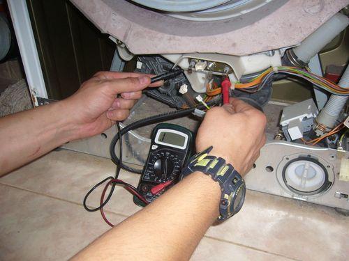 Проверка машины прибором