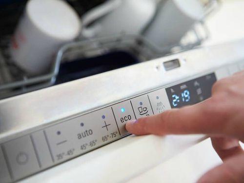 Запуск посудомойки
