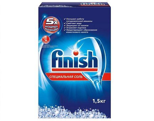 Finish Специальная соль для ПММ