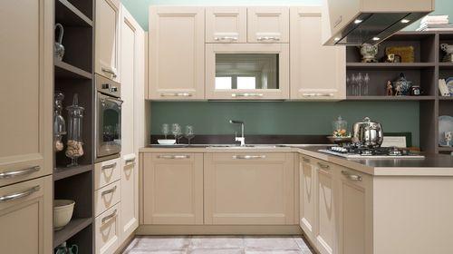 Гармоничное вписание посудомойки в гарнитур кухни