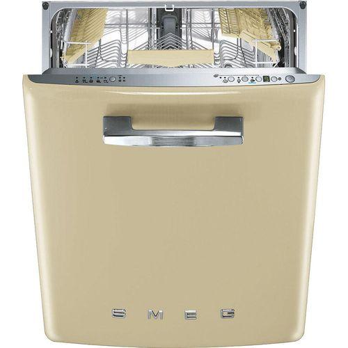 Бежевая посудомочная машина
