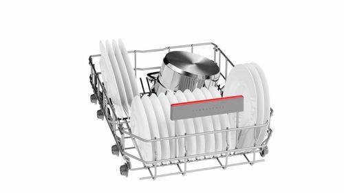 Загрузка отсека посудой