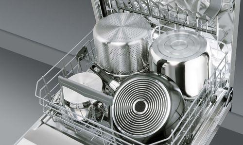 Интенсивная мойка кастрюль в посудомойке