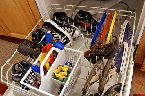 Мойка других предметов в посудомойке